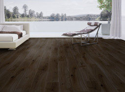 Паркетная доска Weitzer-Parkett Oak Black Pepper Accent PV B/Dbr  Quadra